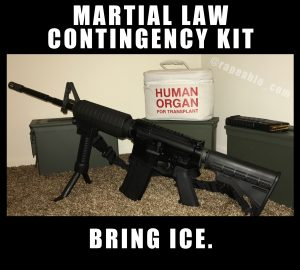 Martial Law Contingency Kit
